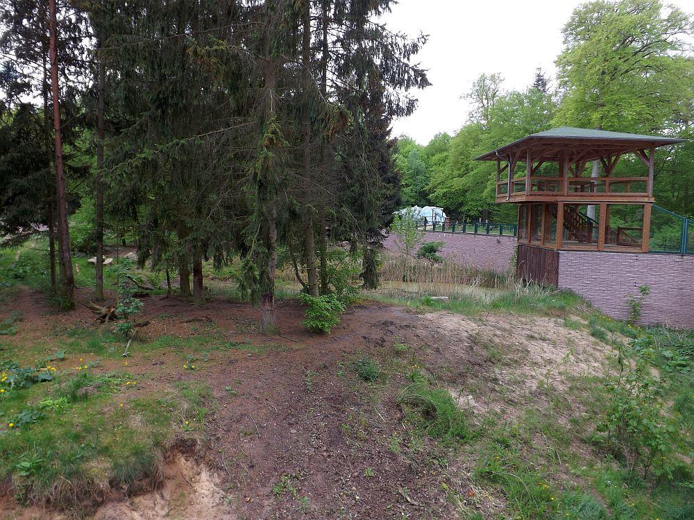 Tigeranlage (Zoo Eberswalde)