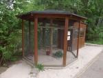 Voliere für Zebrafinken und Diamanttäubchen (Zoo der Minis)