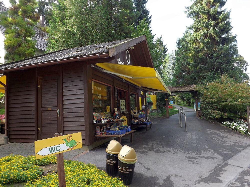 Eingang (Vogelpark Heiligenkirchen)