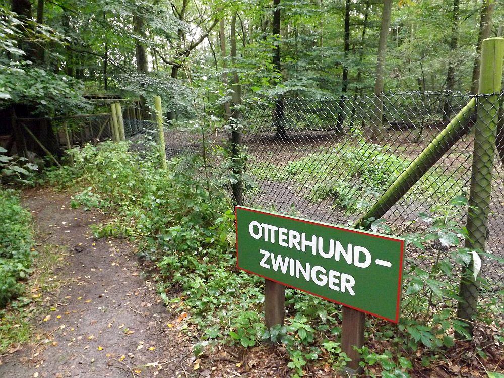 Otterhund-Zwinger (Otterzentrum Hankenbüttel)