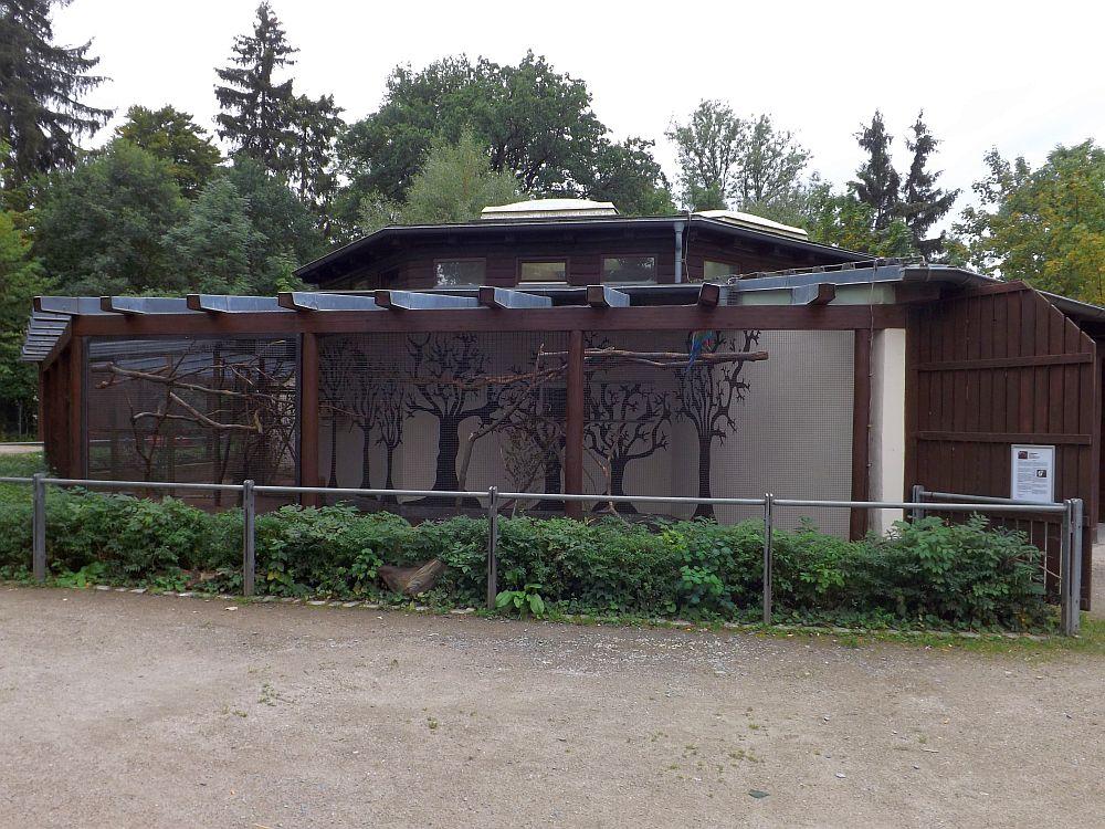 Papageienhaus (Zoologischer Garten Hof)