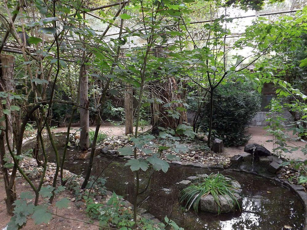 Reihervoliere (Tierpark Hamm)