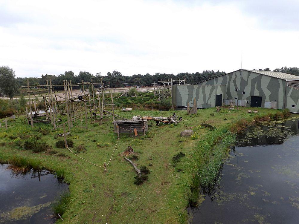 Schimpansenanlage (Safaripark Beekse Bergen)