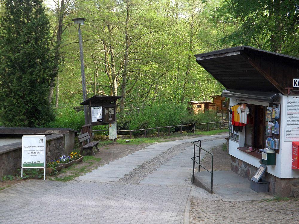 Eingang (Tierpark Kunsterspring)