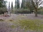 Anlage der Bennett-Kängurus und Emus (Zoo Augsburg)