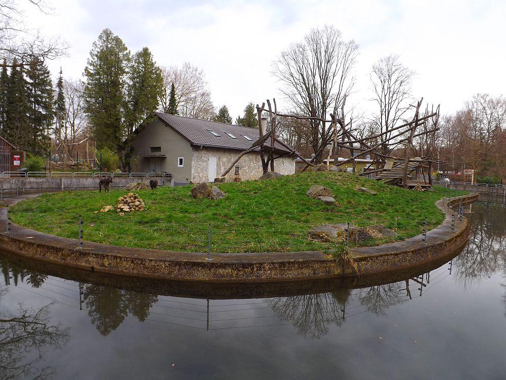Mandrillanlage (Zoo Augsburg)