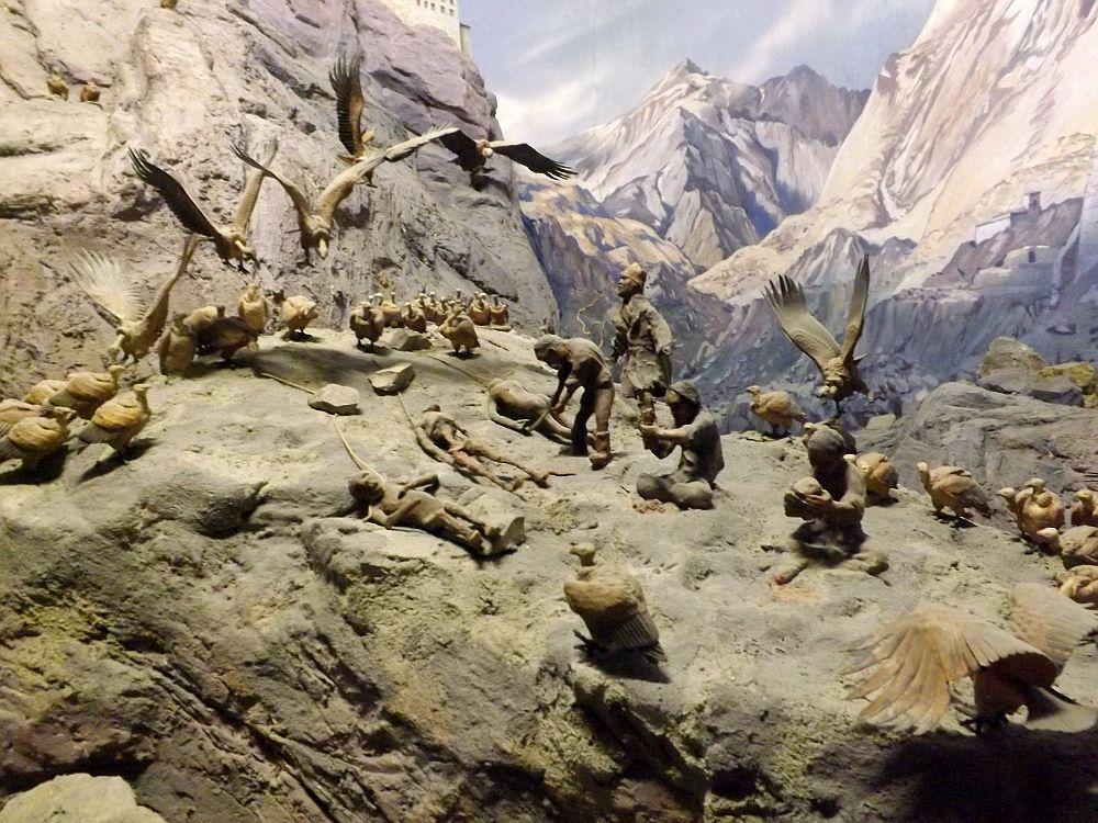 Leichenbestattung in Tibet (Haus der Natur, Salzburg)