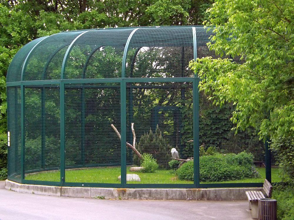 Schneeeulenvoliere (Tierpark Berlin)