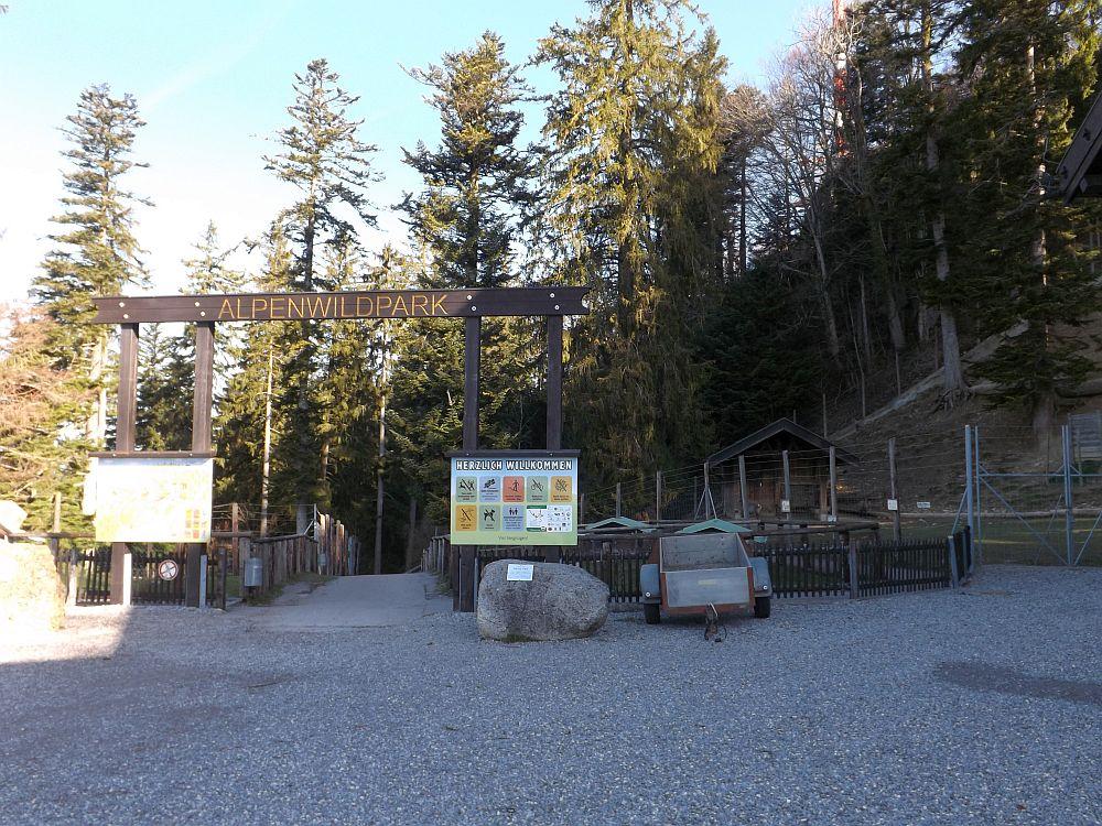 Eingang (Alpenwildpark Pfänder)
