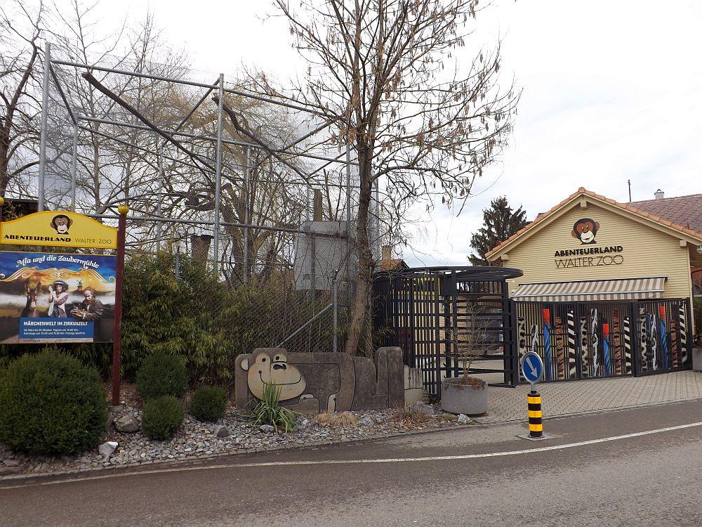 Eingang (Abenteuerland Walter Zoo)