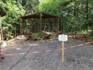 Baustelle (Bayerwald-Tierpark Lohberg)