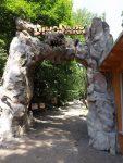 Eingang Dinopark (Zoo Bratislava)