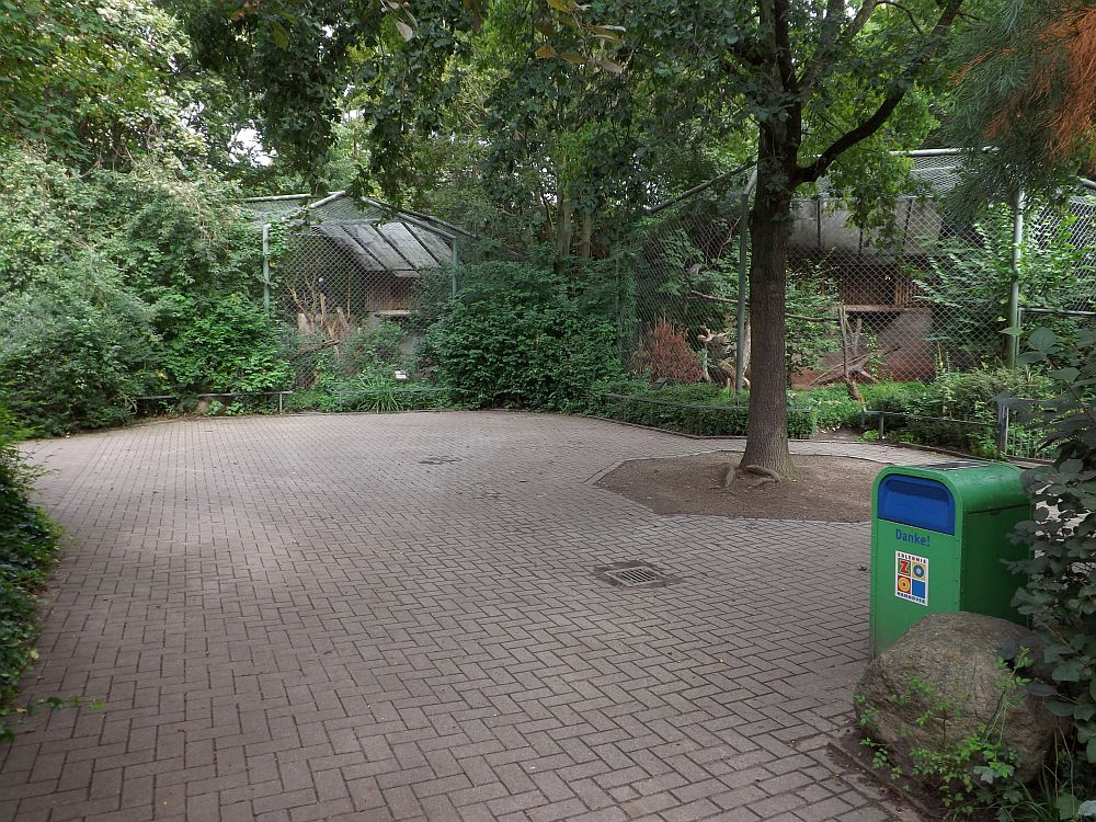 Greifvogelvolieren (Erlebniszoo Hannover)
