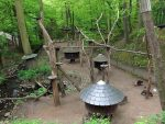 Waschbäranlage (Zoo Eberswalde)
