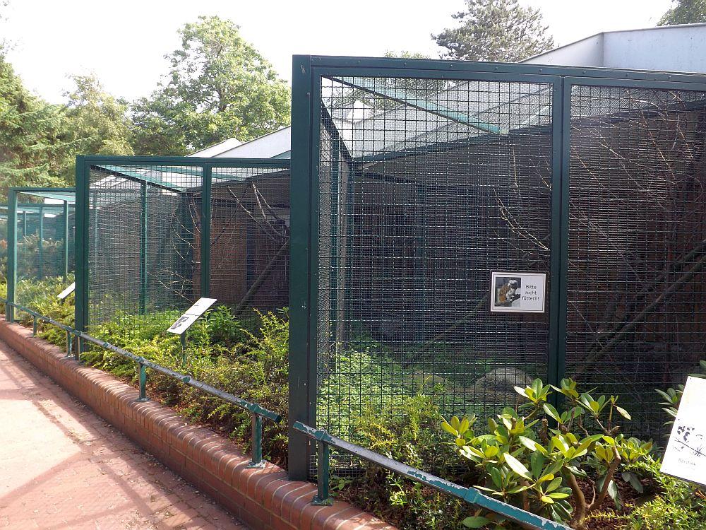 Vogelvolieren (Zoo im Kurpark)
