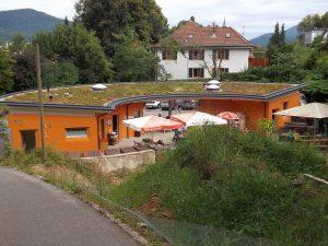 Neuer Eingang, vom Zoo aus gesehen (Schwarzwaldzoo Waldkirch)