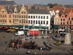 Blick auf den großen Markt (Brügge)