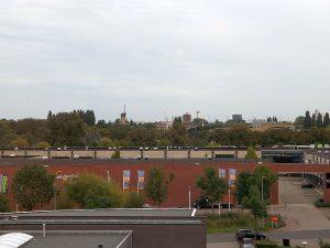 Blick aus dem Hotel von Vaardlingen