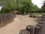 Stachelschweinanlage (Tiergarten Falkenstein)