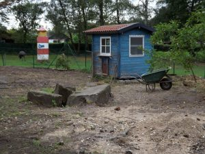 Baustelle Aravoliere (Vogel- und Tierpark Solingen-Ohligs)