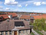 Blick auf Halberstadt vom Städtischen Museum aus gesehen