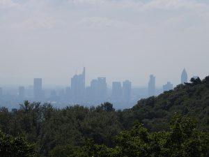 Frankfurt, vom Opelzoo aus gesehen