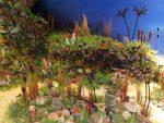Korallenriff im Silur (Naturkundemuseum Coburg)