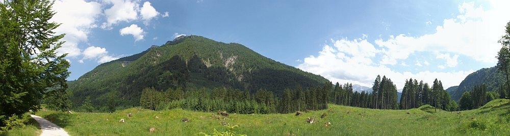 Blick auf die Umgebung des Wildpark Cumberland
