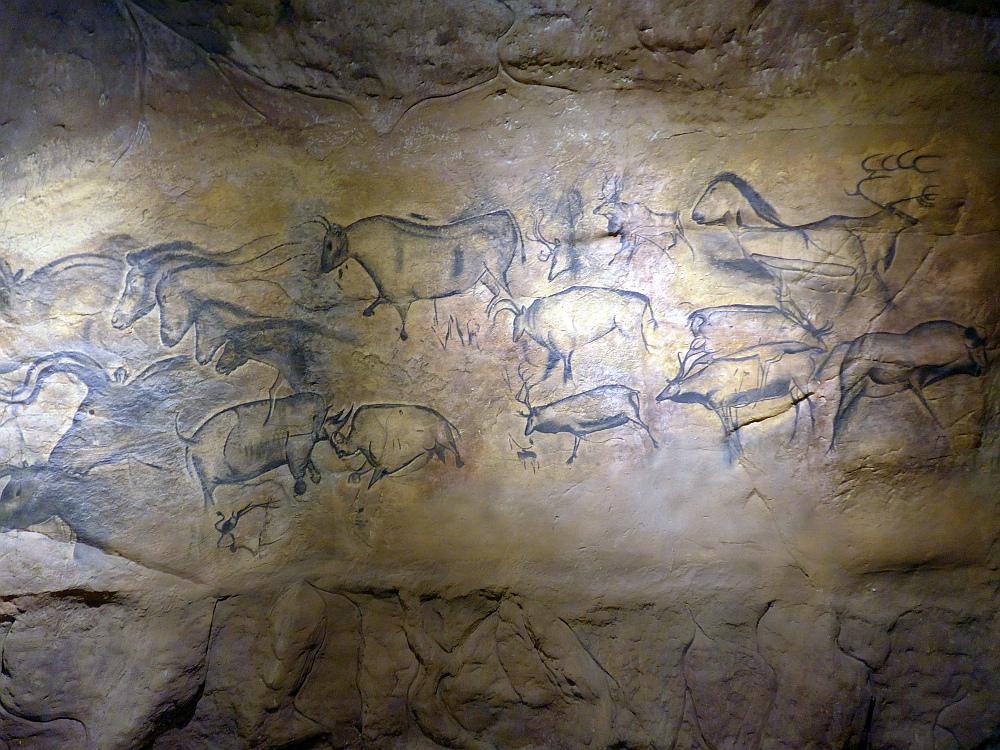 Nachbau der Höhle von Chauvet (Evolutionsmuseum Schmiding)