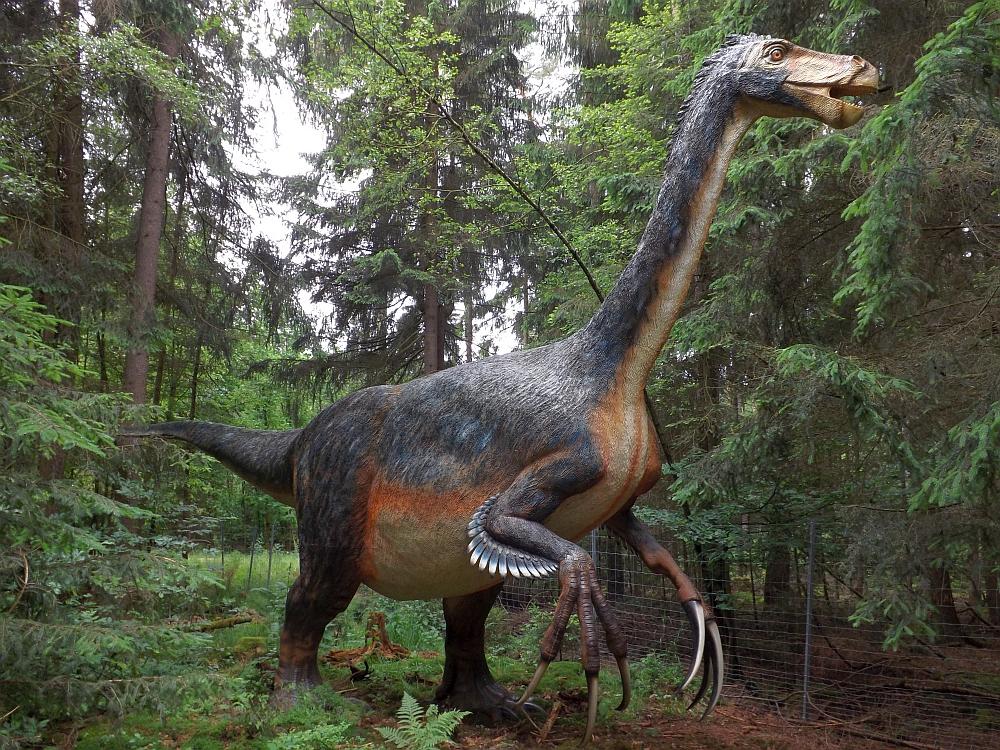 Therizinosaurus cheloniformis (Dinopark Altmühltal)