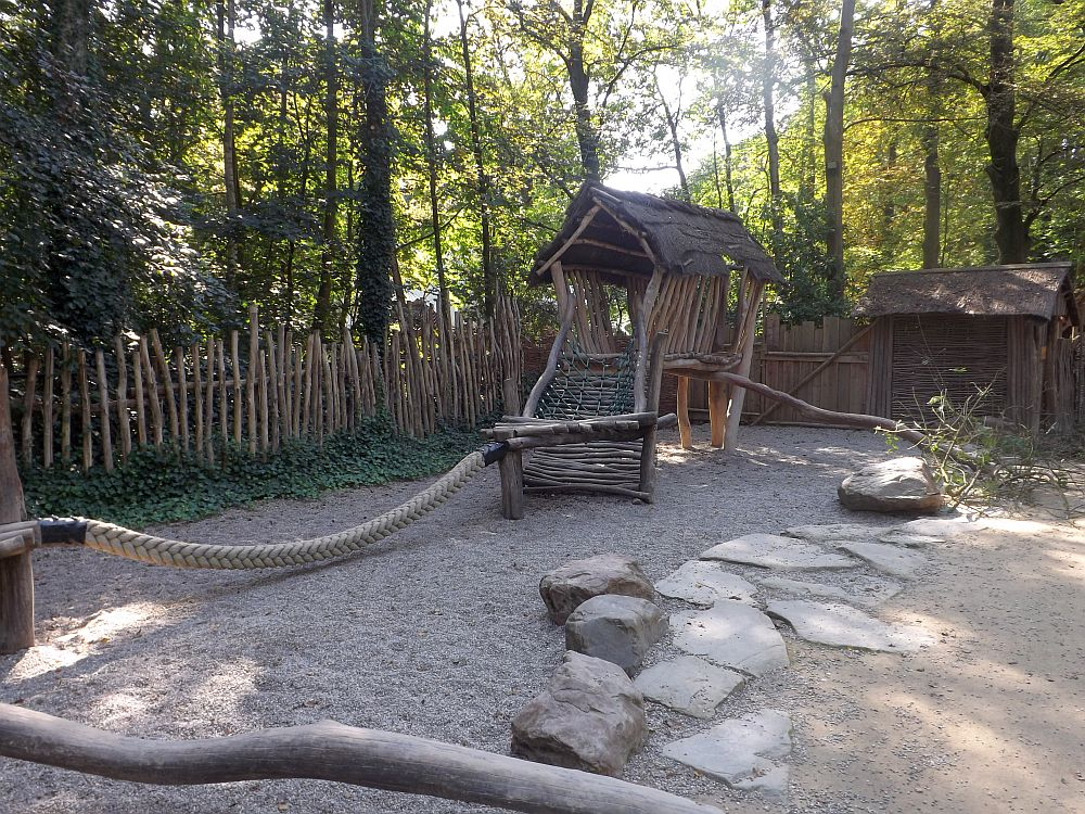 Afrikanischer Spielplatz (Zoo Planckendael)