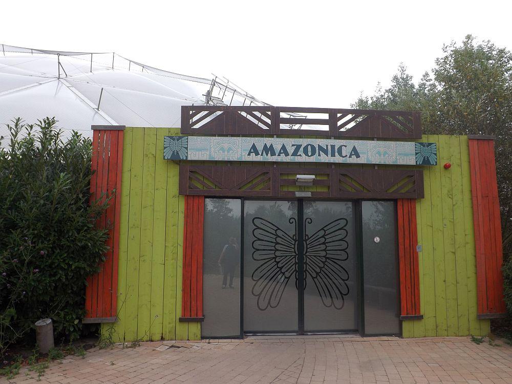 Amazonica, Eingang (Zoo Rotterdam)