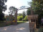 Parkteil Asien, Eingang (Zoo Planckendael)