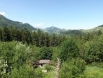 Blick über des Luchsgehege auf die Umgebung (Wildpark Buchenberg)
