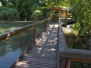 Brücke (Tiergarten Wels)