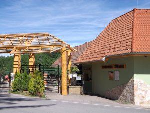 Eingang (Zoo Dvorec)