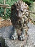 Löwenstatue (Zoo Amersfoort)