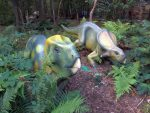 Leptoceratosaurus und Protoceratops (Zoo Amersfoort)