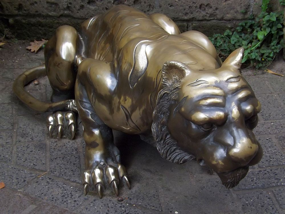 Tigerstatue (Zoo Amersfoort)