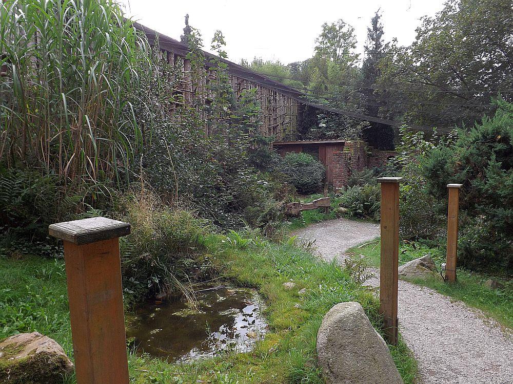 Eulenvoliere (Affen- und Vogelpark Reichshof-Eckenhagen)