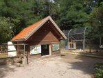 Winterhaus für Spornschildkröten und Truthahnvoliere (Tierpark Sommerhausen)