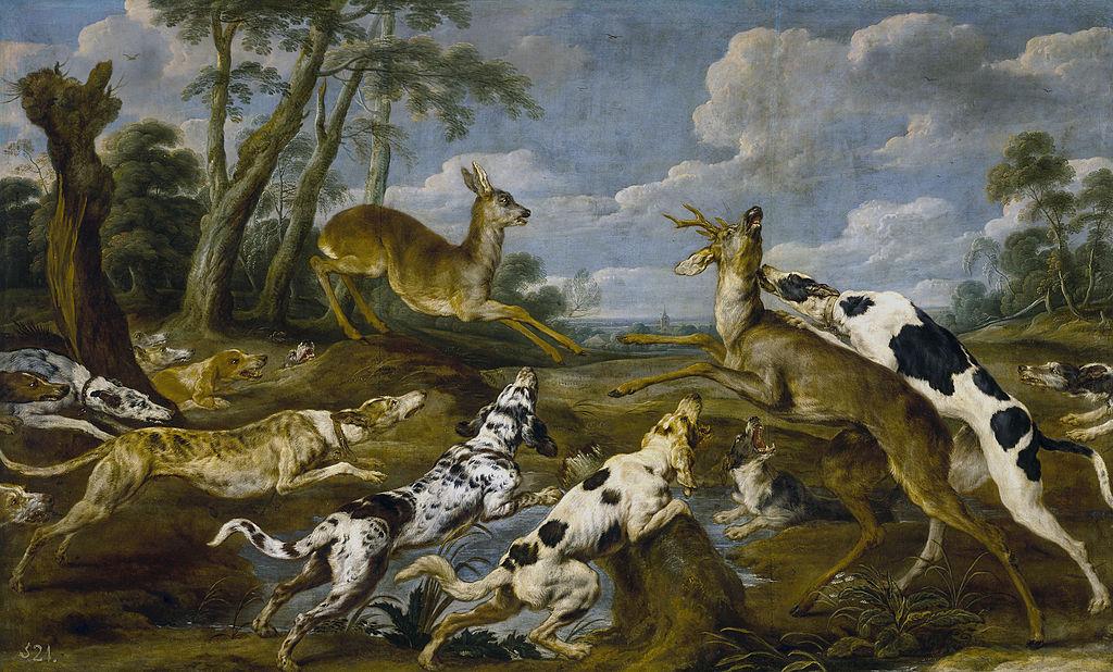 Rehjagd, Pauwel de Vos (1595–1678)