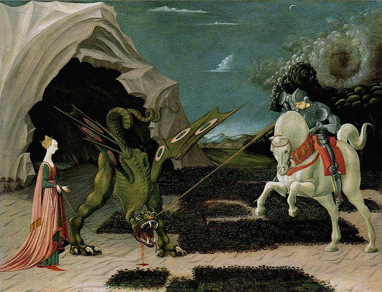 Sankt Georg und der Drache (Paolo Uccello)
