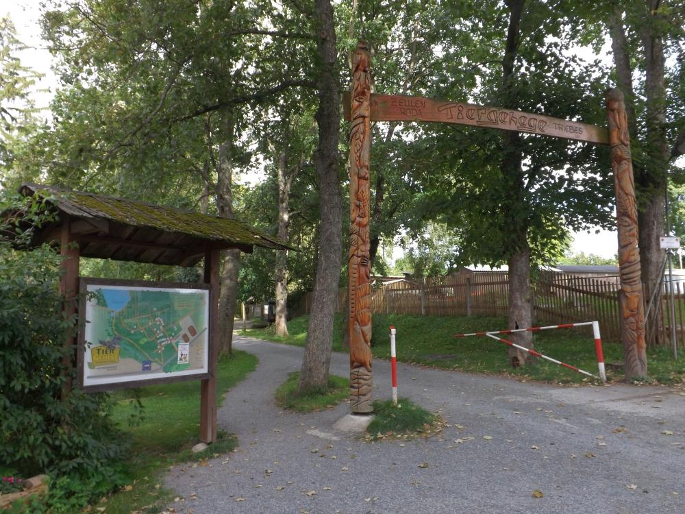 Eingang (Tiergehege Zeulenroda)