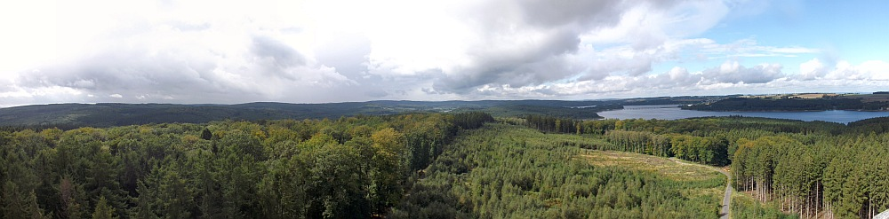 Blick vom Möhneseeturm
