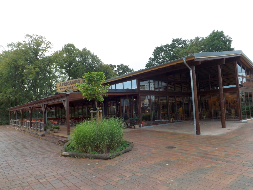 Africambolodge (Zoo Magdeburg)
