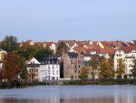 Altenburg, von der Zoobrücke aus gesehen