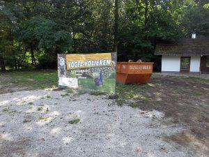 Baustelle (Wildpark Höllohe)