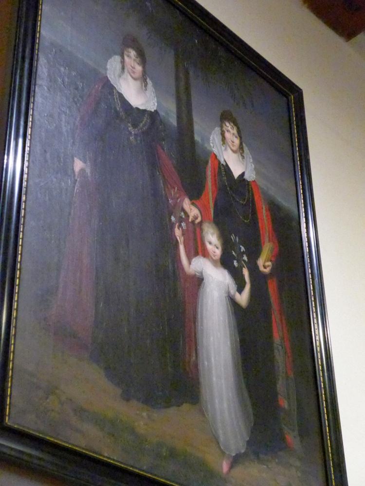 Therese, Luise und Eduard, 1810 (Leuchtenburg)