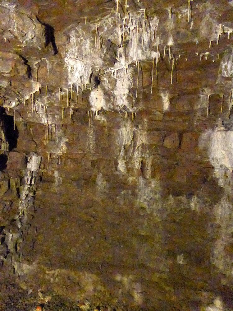 Tropfsteinhöhle in den historischen Höhlern, Gera
